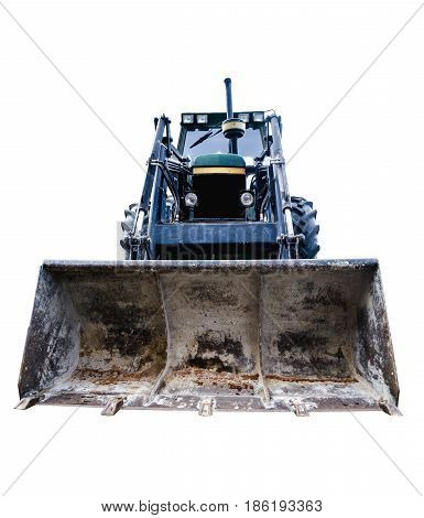 Loader Isolated Over White