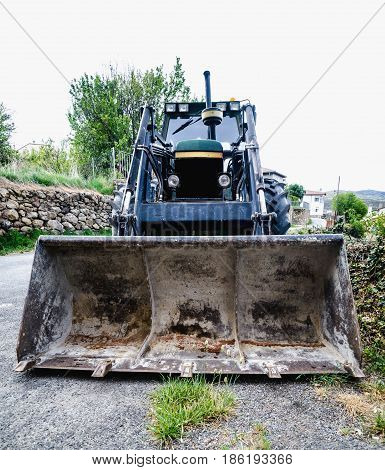 Loader Excavation And Earthmoving Heavy Machinery