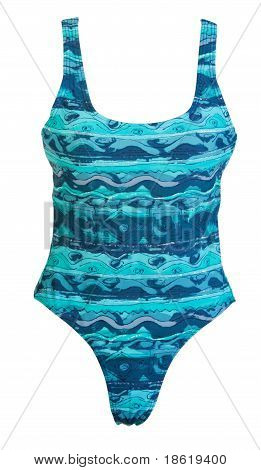 Conjoint Blue Swimsuit