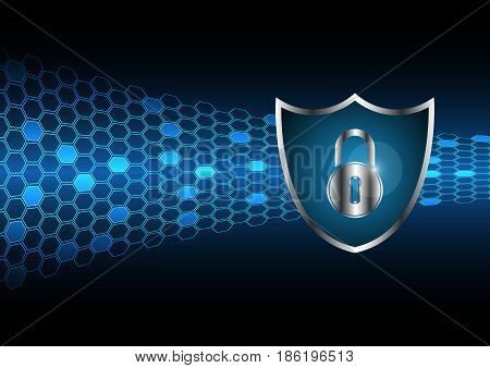 Cyber Security Master Key Lock Shield