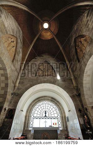 Dominus Flevit Roman Catholic church on the Mount of Olives in Jerusalem
