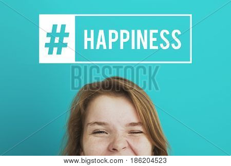 Youth Happiness Good Vibes Concept