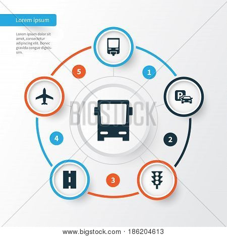 Transportation Icons Vector & Photo (Free Trial) | Bigstock