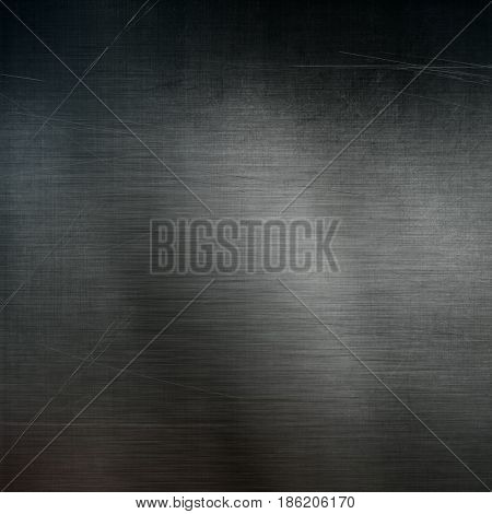 Grunge metal background with scratches
