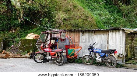 Mountain Village In Banaue, Ifugao, Philippines