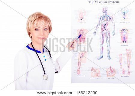 Medical Concept. Doctor At Work