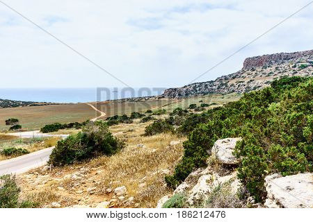 Road to Cape Greco in Ayia Napa