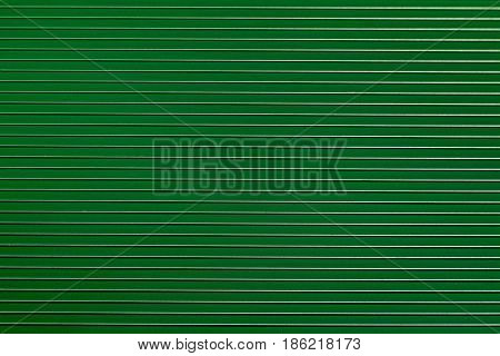 Light green plastic background with bulging strips