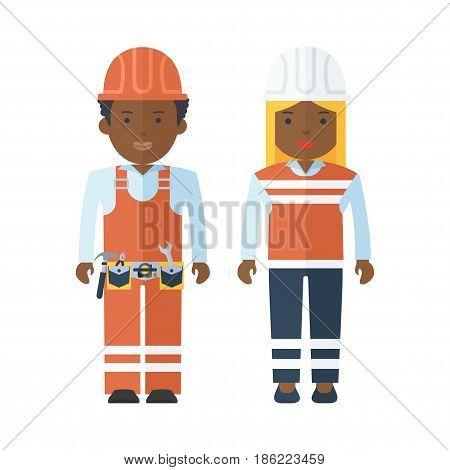 Black People Worker