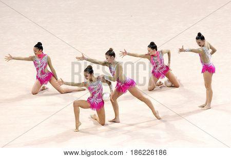 Team Canada Rhythmic Gymnastics