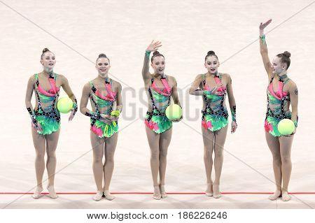 Team Germany Rhythmic Gymnastics