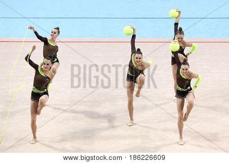 Team Ukraine Rhythmic Gymnastics