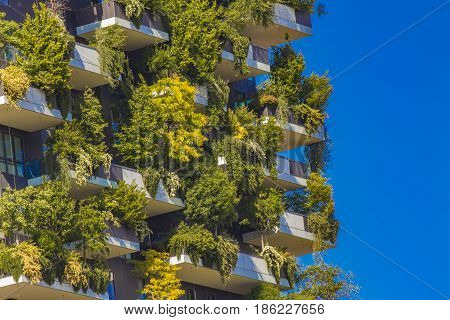 Vertical Forest Buildings In Milan, Italy