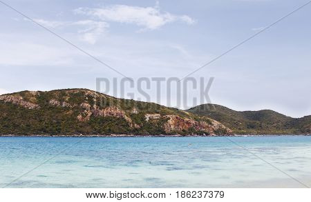 Samae San Island, a small island in Sattahip District, Chonburi Province of Thailand.
