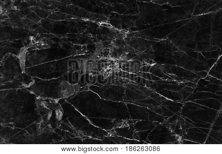 Black marble texture for background (Detailed real genuine marble from nature, Can be used for creating a black background and surface effect for interior wallpaper design ideas)