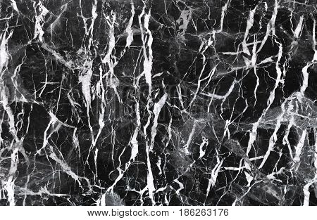 Abstract natural marble black and white (Can be used for creating a black background and marble surface effect for interior design ideas)