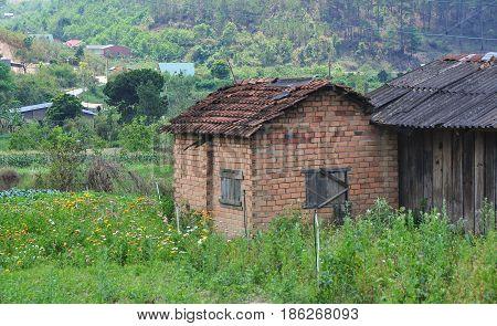 Houses In Dalat, Vietnam