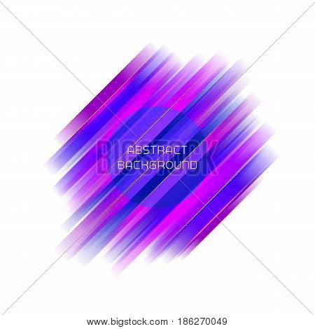 Abstract stripe geometric background for brochure, leaflet, poster, backdrop, flyer etc. Stock vector illustration