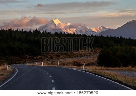 Mount Cook New Zealand
