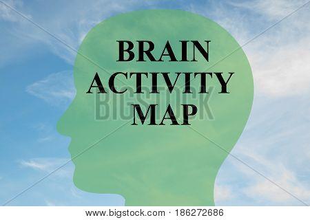Brain Activity Map Concept