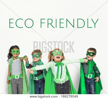 Eco Friendly Responsibility Nature Environment Word