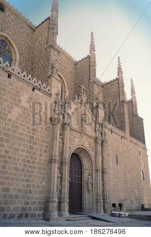 Monastery of San Juan de los Reyes in Toledo, Spain