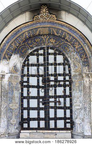 Door Of Orthodox Church