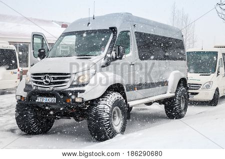 Mercedes-benz Sprinter Off-road Model