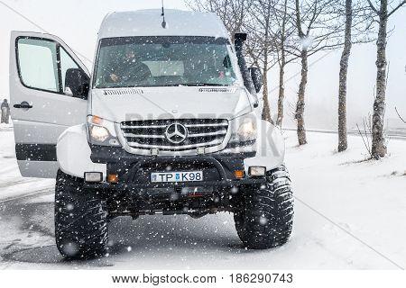 Mercedes-benz Sprinter Icelandic Edition