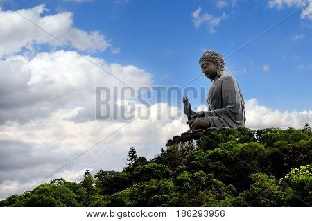 Tian Tan Buddha Hong Kong China
