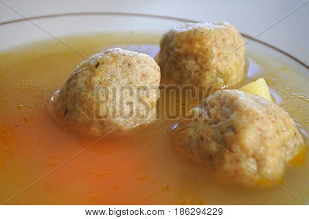Passover Jewish Soup Dumplings