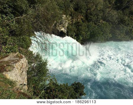 Huka Falls Taupo New Zealand