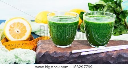 Green Detox Smoothie For Diet
