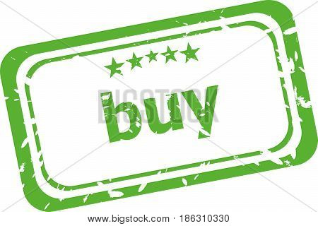 Buy Rubber Stamp Over A White Background