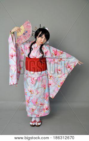 Girl In Yukata