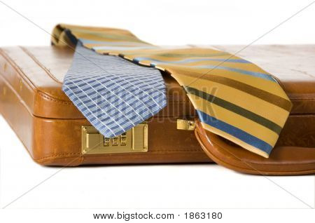Ties And Briefcase