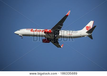 Hs-lto Boeing 737-900Er Of Thai Lion Air Airline