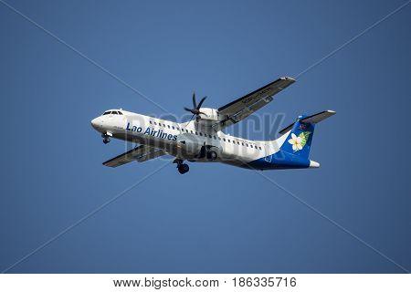 Rdpl-34175 Atr72-500 Of Lao Airline.