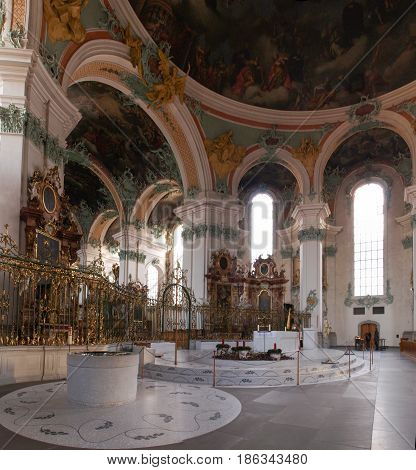 Abbey Of St. Gall.
