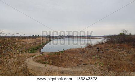 barragem acude trussu em iguatu ceara agua