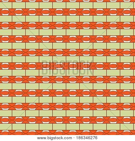 Rectangle seamless pattern. Fashion graphic background design. Stylish abstract texture. Colorful template for prints textiles wrapping wallpaper website. Design element. Vector illustration