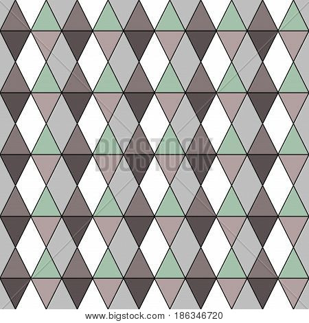 Rhombus seamless pattern. Fashion graphic background design. Modern stylish abstract texture. Colorful template for prints textiles wrapping wallpaper website etc. Vector illustration