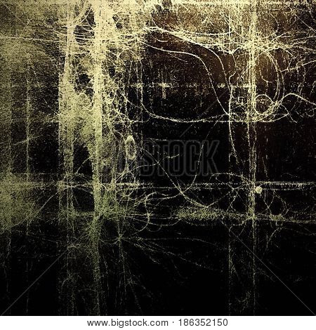 Old style design, textured grunge background with different color patterns: yellow (beige); brown; gray; black; white