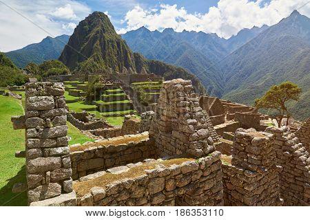 Machu Picchu Temple