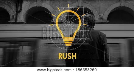 Rush Speedy Deadline Busy Schedule