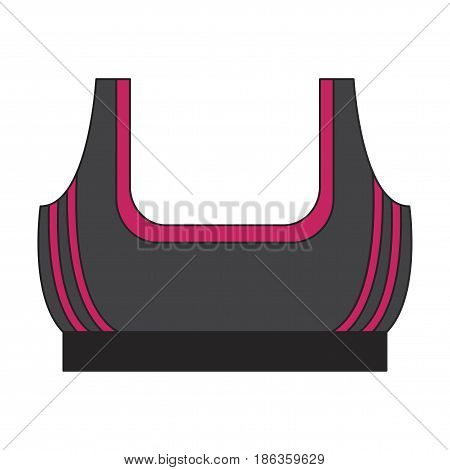 Icon in flat design Sports top sport