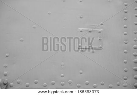 Abstract technical black and white background, grey tone pattern