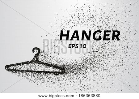 The Hanger Of The Particles. Hanger Consists Of Small Circles And Dots. Vector Illustration.