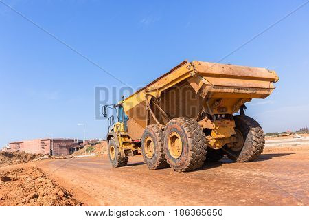 Construction Truck  Earthworks