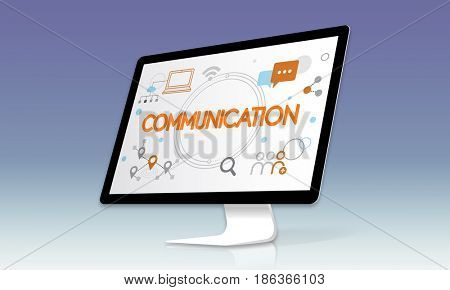 Communication Networking Connection Online